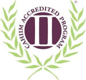 Cahiim accreditation logo