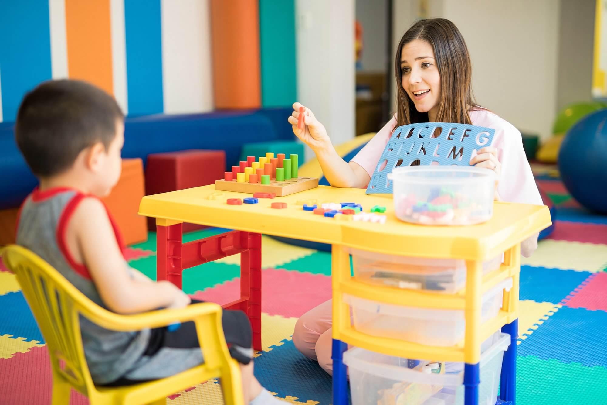 Behavioral Analysis teaching children