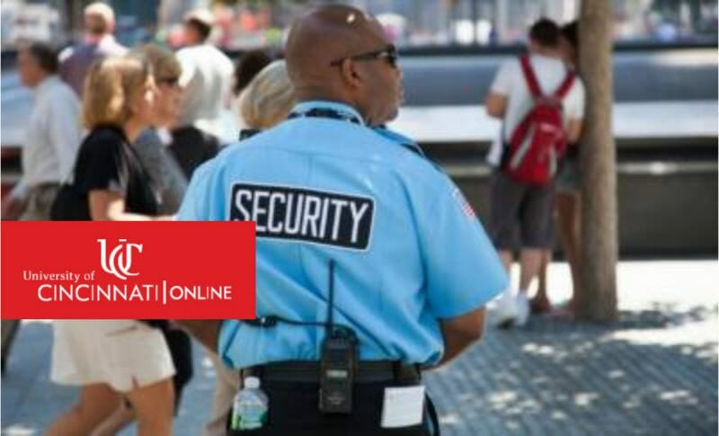 Security guard at event