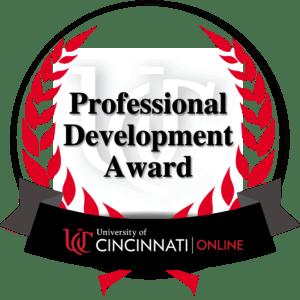 Professional Development Award Badge