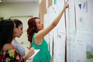 Students Checking Grades - Certificate in Principal Licensure