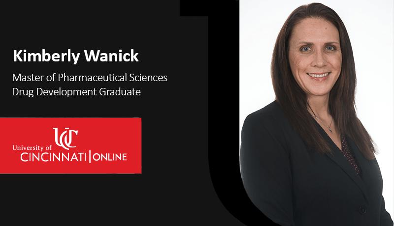 MS Pharmaceutical Sciences Drug Development Graduate Kimberly Wanick