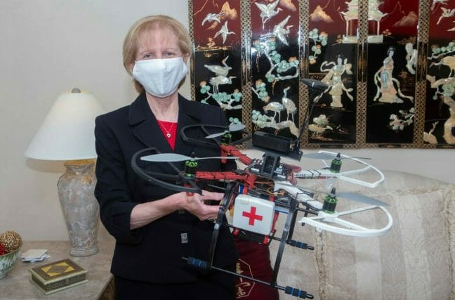 UC's pilot telehealth project demonstrates how drones can be used in healthcare