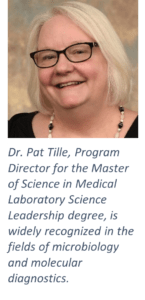 Pat Tille | Master of Science in Medical Laboratory Science Leadership