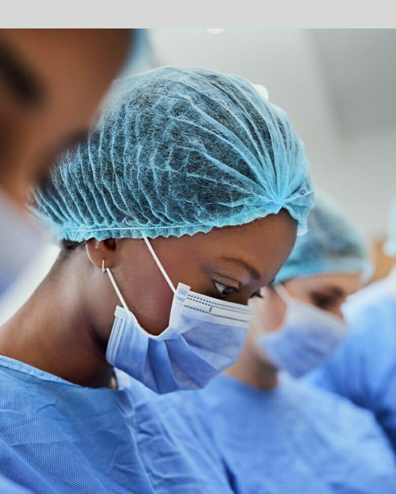 doctors wearing a mask