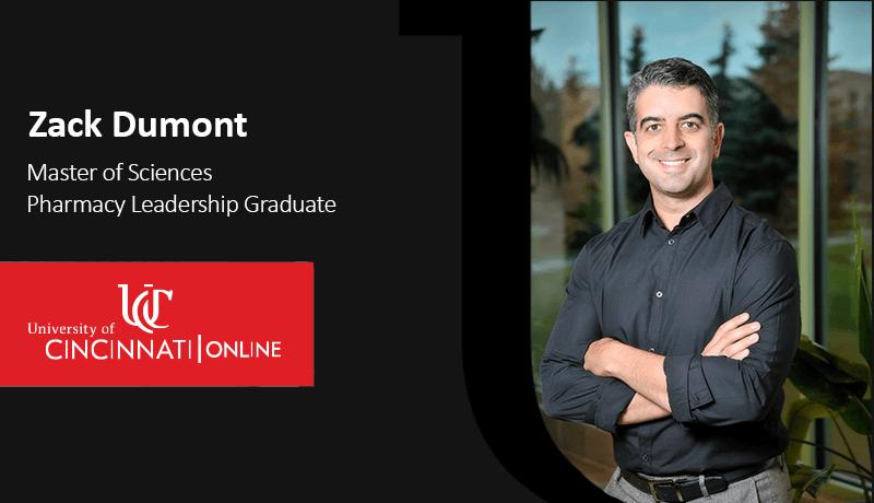 Pharmacy Leadership Alumni Zack Dumont