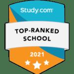 top ranked school badge